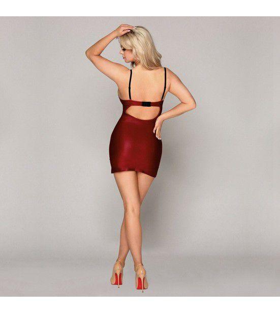 Пеньюар-платье бордового цвета, артикул 13171