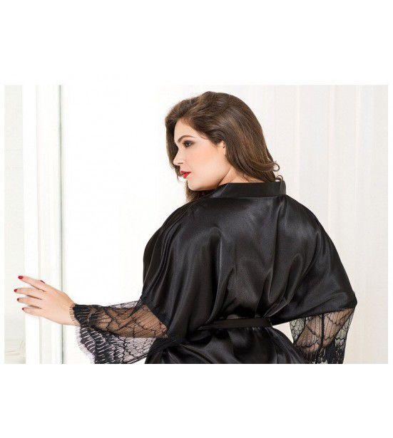 Женский халат большого размера, артикул 13232