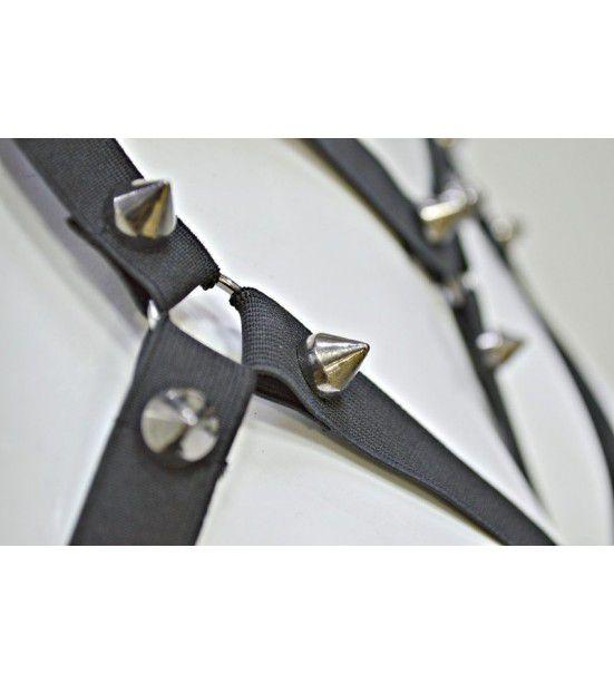 Кожаные стрепы на грудь, артикул 13366