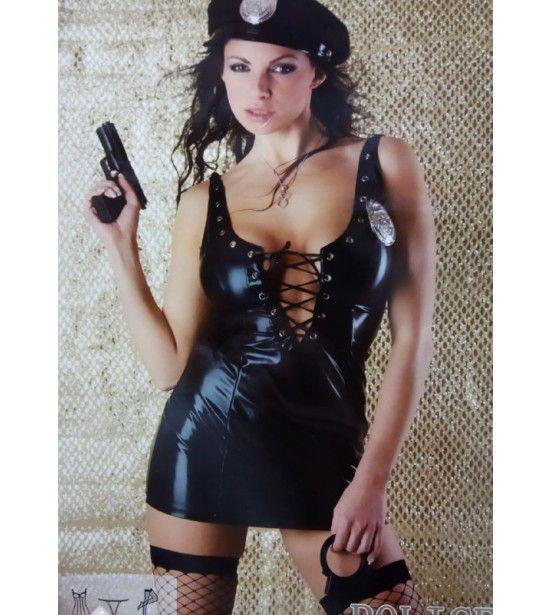 Ролевой комплект полицейской, артикул 13572