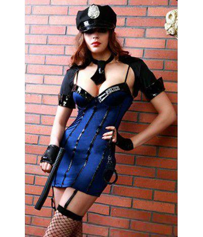 Ролевой комплект полицейской, артикул 8803