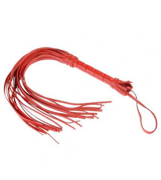 Красная мини-плеть - 40 см.