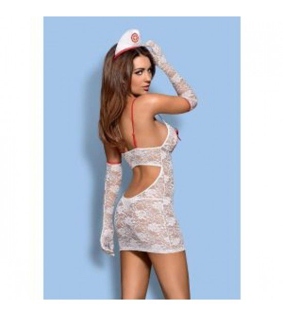 Кружевной костюм медсестры Medica