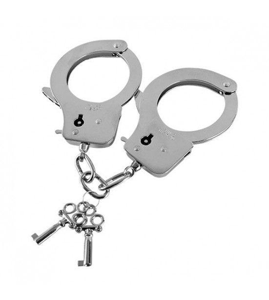 Наручники из листового металла с ключами Metal Handcuffs