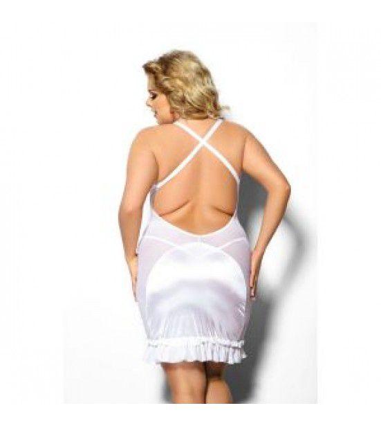 Облегающая полупрозрачная сорочка Tanise с открытой спиной