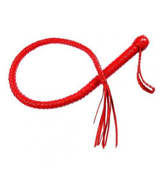 Однохвостная красная плеть - 70 см.
