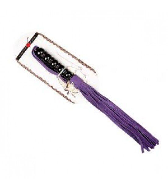 Оригинальная плеть из замши – 29 см.
