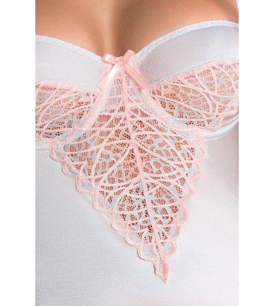 Женственная сорочка Nikita с нежно-розовым кружевом