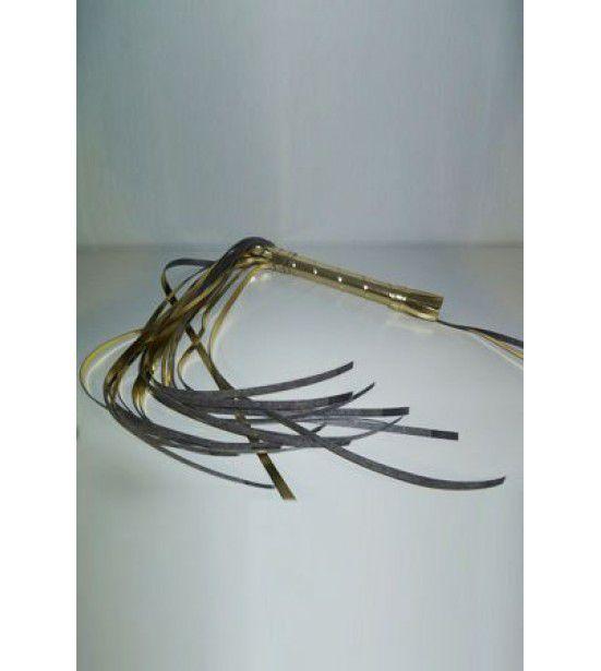 Золотистая многохвостая плеть - 65 см.